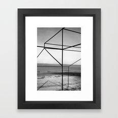 Partir Framed Art Print
