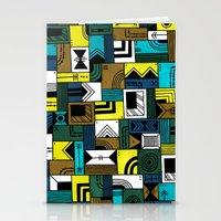 Napkin Darts Stationery Cards