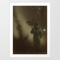 Rain Dogs Art Print