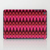 Red/Pink Themed Chevrons iPad Case