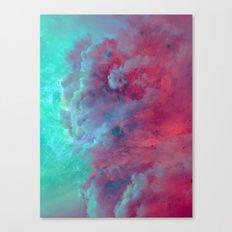 Mèduse Rouge Canvas Print