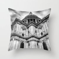 St Paul's Cathedral Lond… Throw Pillow