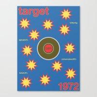 target single hop Canvas Print