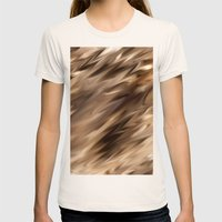 Conditions Womens Fitted Tee Natural SMALL