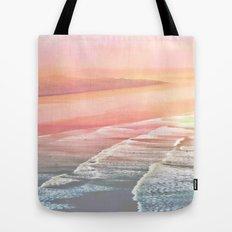 Pink Ocean Tote Bag