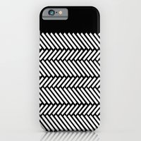 Herringbone Boarder iPhone 6 Slim Case