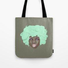 emogirl earth Tote Bag