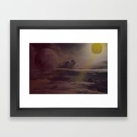 Bright Skies Framed Art Print