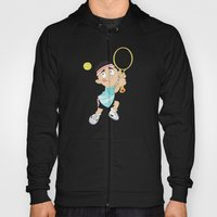 Olympic Sports: tennis Hoody