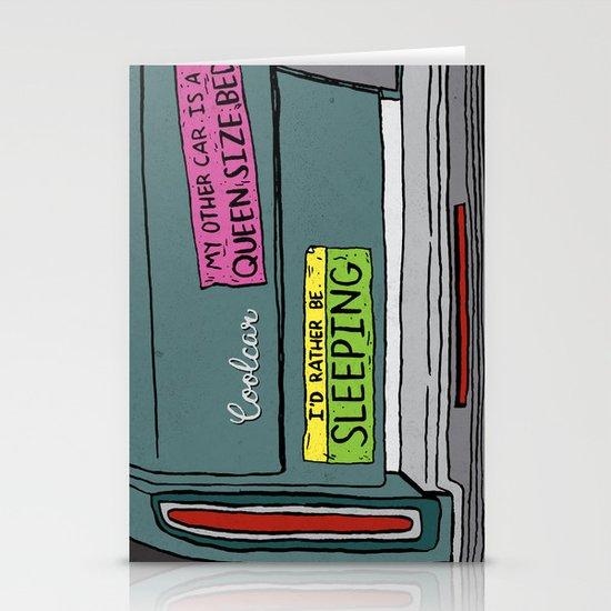 If I Had a Car Stationery Card
