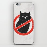 No Owls iPhone & iPod Skin
