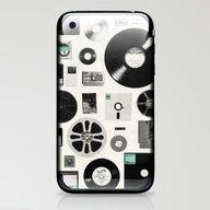 iPhone & iPod Skin featuring Data by Speakerine / Florent…