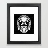 Day of the Dredd - Black Framed Art Print