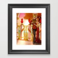Together in the Sun Framed Art Print