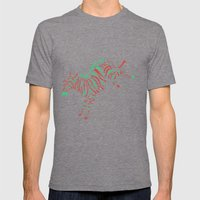 Can I Kick It? Mens Fitted Tee Tri-Grey SMALL
