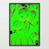 Squids Canvas Print