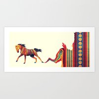 For Maggie - We Got the Fire Art Print