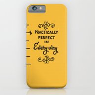iPhone & iPod Case featuring Practically Perfect In E… by Studiomarshallarts