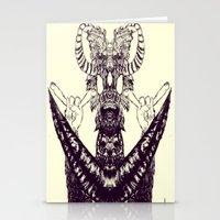 Surf Totem Stationery Cards