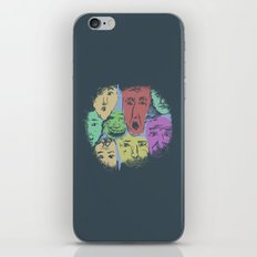 The Different Moods iPhone & iPod Skin