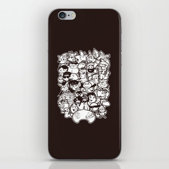 Mega 16 Bit iPhone & iPod Skin