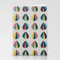 Abstract Petals Stationery Cards