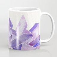 Amethyst Watercolor Mug