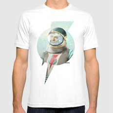 Stardust to Stardust Mens Fitted Tee White SMALL