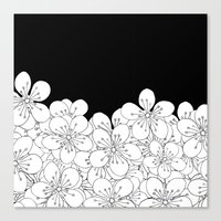 Cherry Blossom Boarder Canvas Print