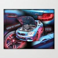 BMW M2 Coupe Canvas Print