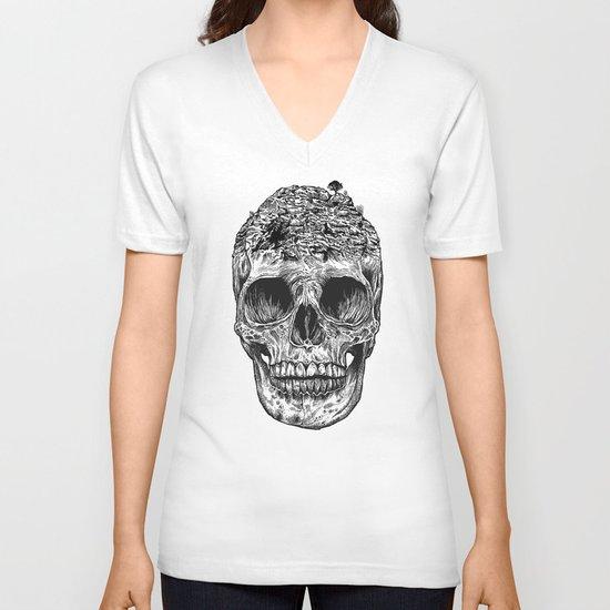 Skull Island V-neck T-shirt