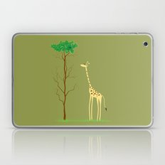 tree v giraffe Laptop & iPad Skin
