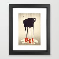 Wellies! Framed Art Print