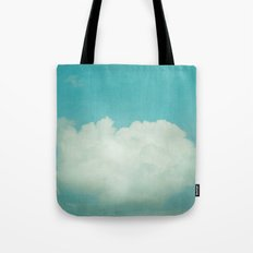 Come With Me, Wendy (blue) Tote Bag