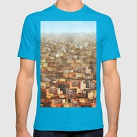 Mexico City Mens Fitted Tee Teal SMALL