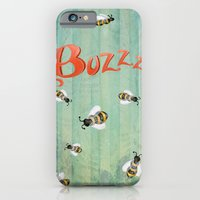 iPhone & iPod Case featuring Buzzz by Jennifer Lambein