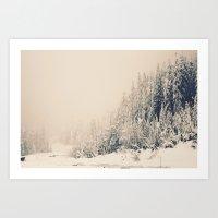 When It Is Winter, It Sn… Art Print