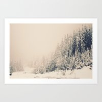 When It Is Winter, It Sn… Art Print