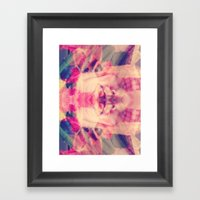Surreal Selfie Framed Art Print