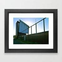 We Once Had A Drive-in Framed Art Print