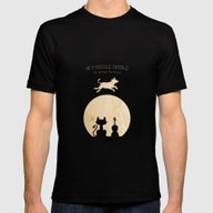 Hey Diddle Diddle. Child… Mens Fitted Tee Black SMALL