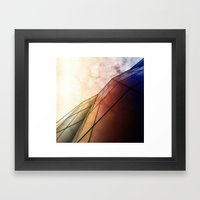 The Wall Of The City Framed Art Print