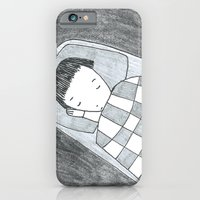 iPhone & iPod Case featuring asleep by mirtle