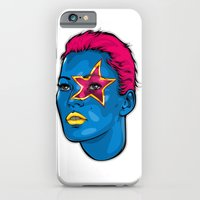 iPhone Cases featuring Supermodel by Dave Homer