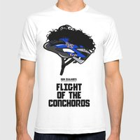 Flight Of The Conchords … Mens Fitted Tee White SMALL