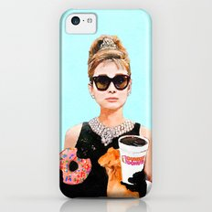 Breakfast at Dunkin Donuts - Audrey Hepburn iPhone 5c Slim Case