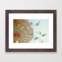 Swings-Whee! Framed Art Print