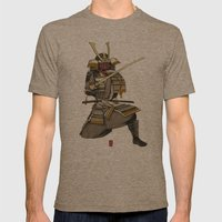Samurai 1 Version A Mens Fitted Tee Tri-Coffee SMALL