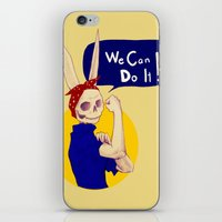 Female Bunnism iPhone & iPod Skin