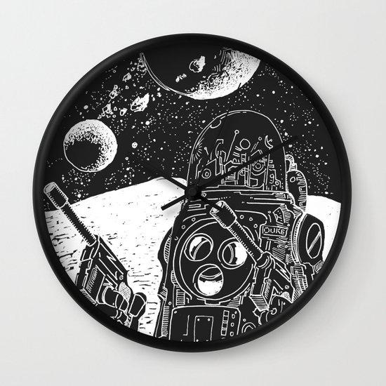 Duke of the Moon Wall Clock